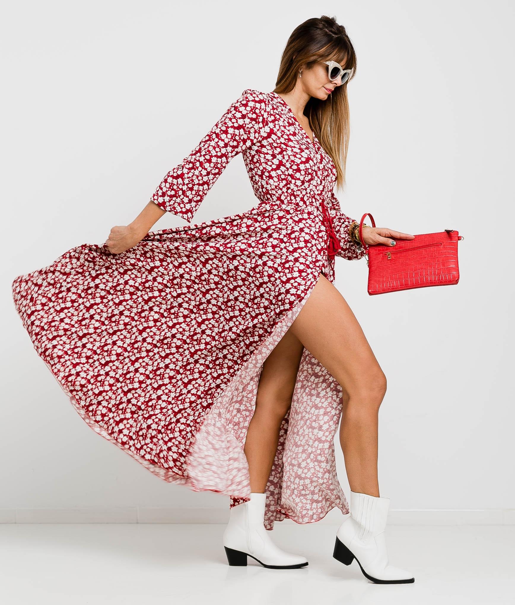 Vestido Lopina - Vermelho