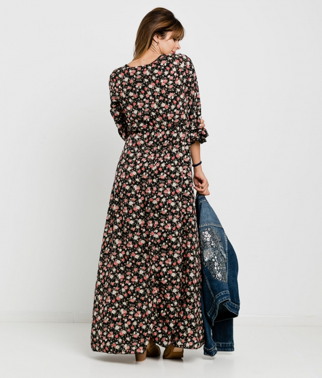 Vestido Kalinka - Negro