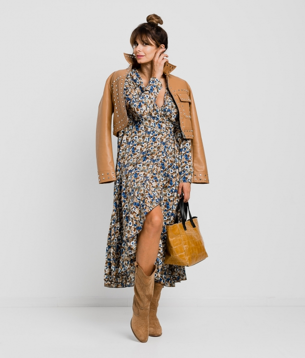 Vestido Cogorte - Camel