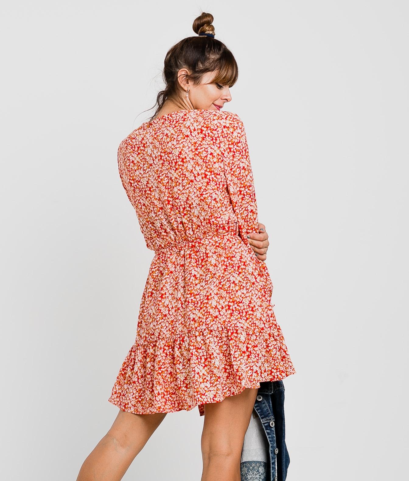 NYMERIA DRESS - RED