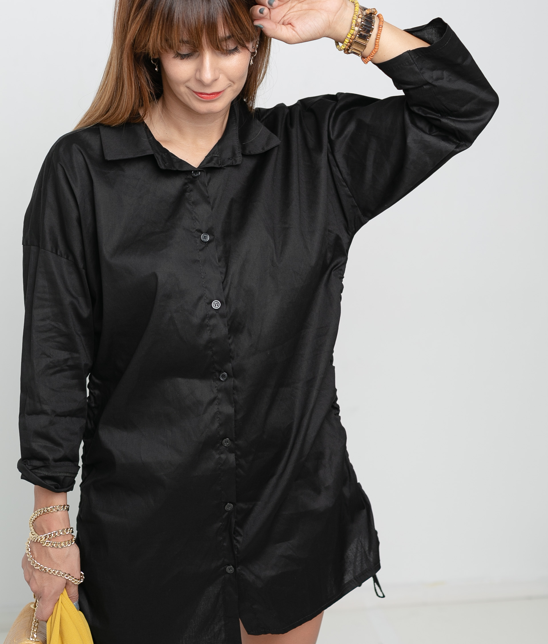 TAIREL SHIRT - BLACK