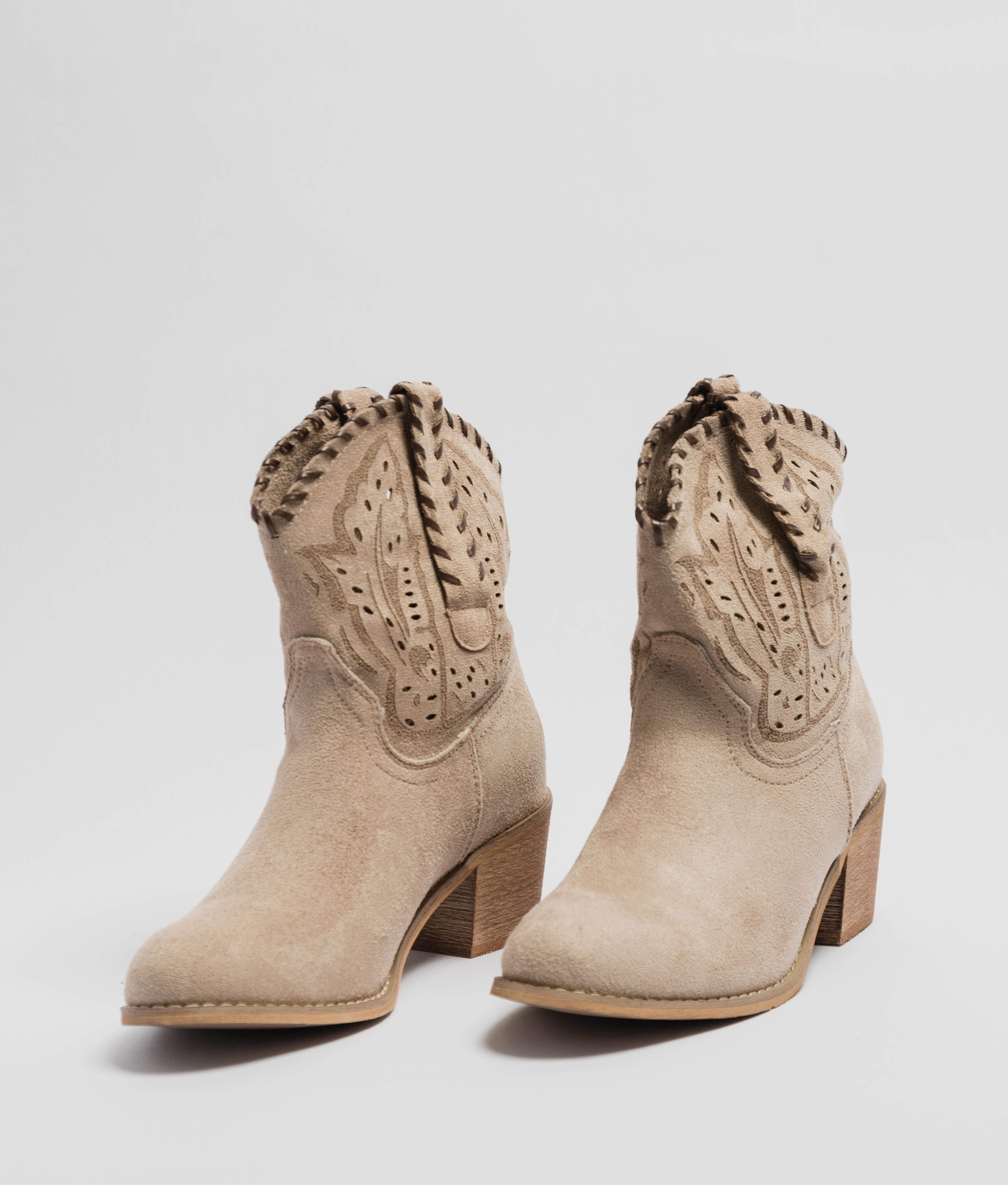 Low Boot Vinia - Beige
