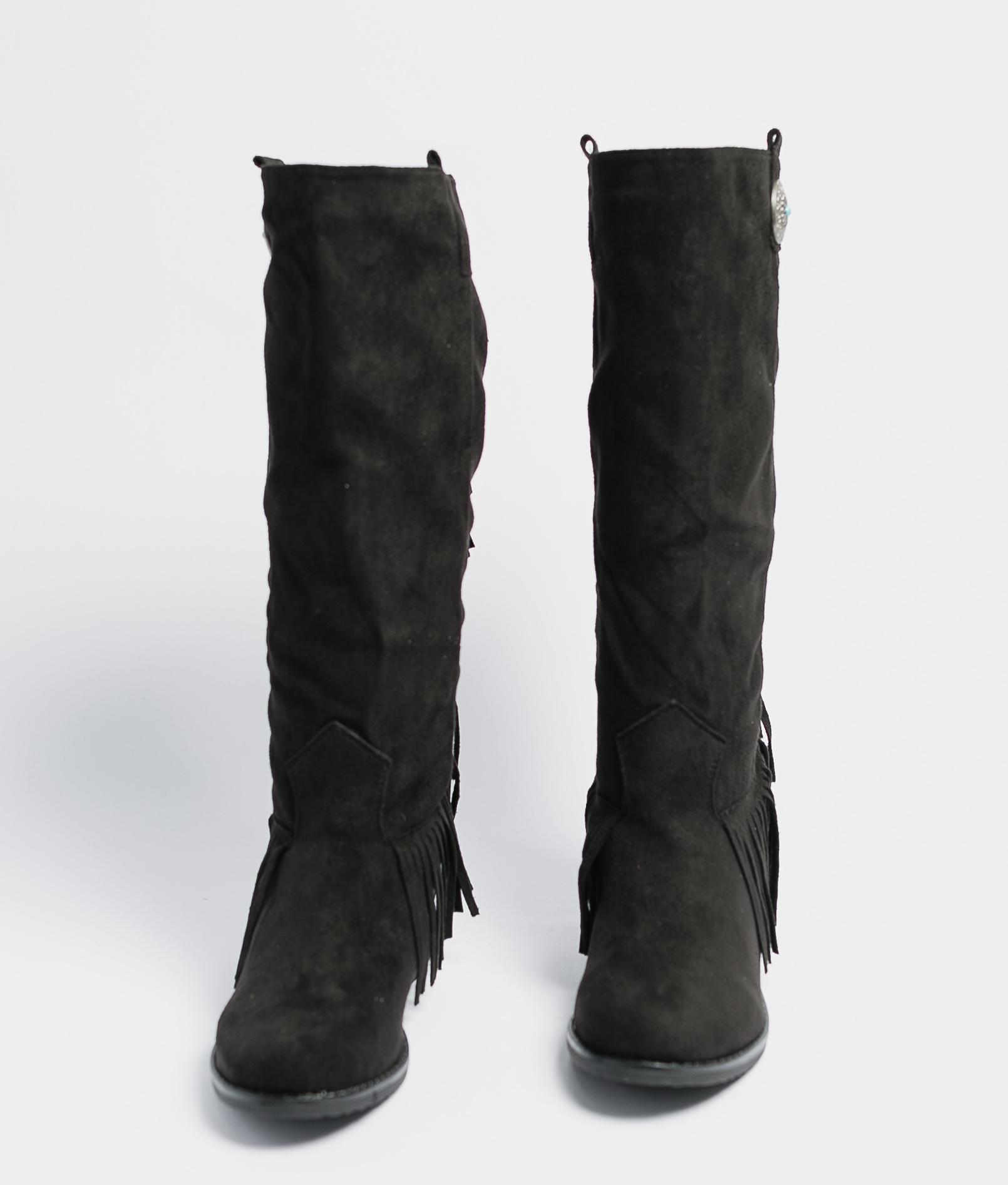 Knee-Length Boot Koari - Black