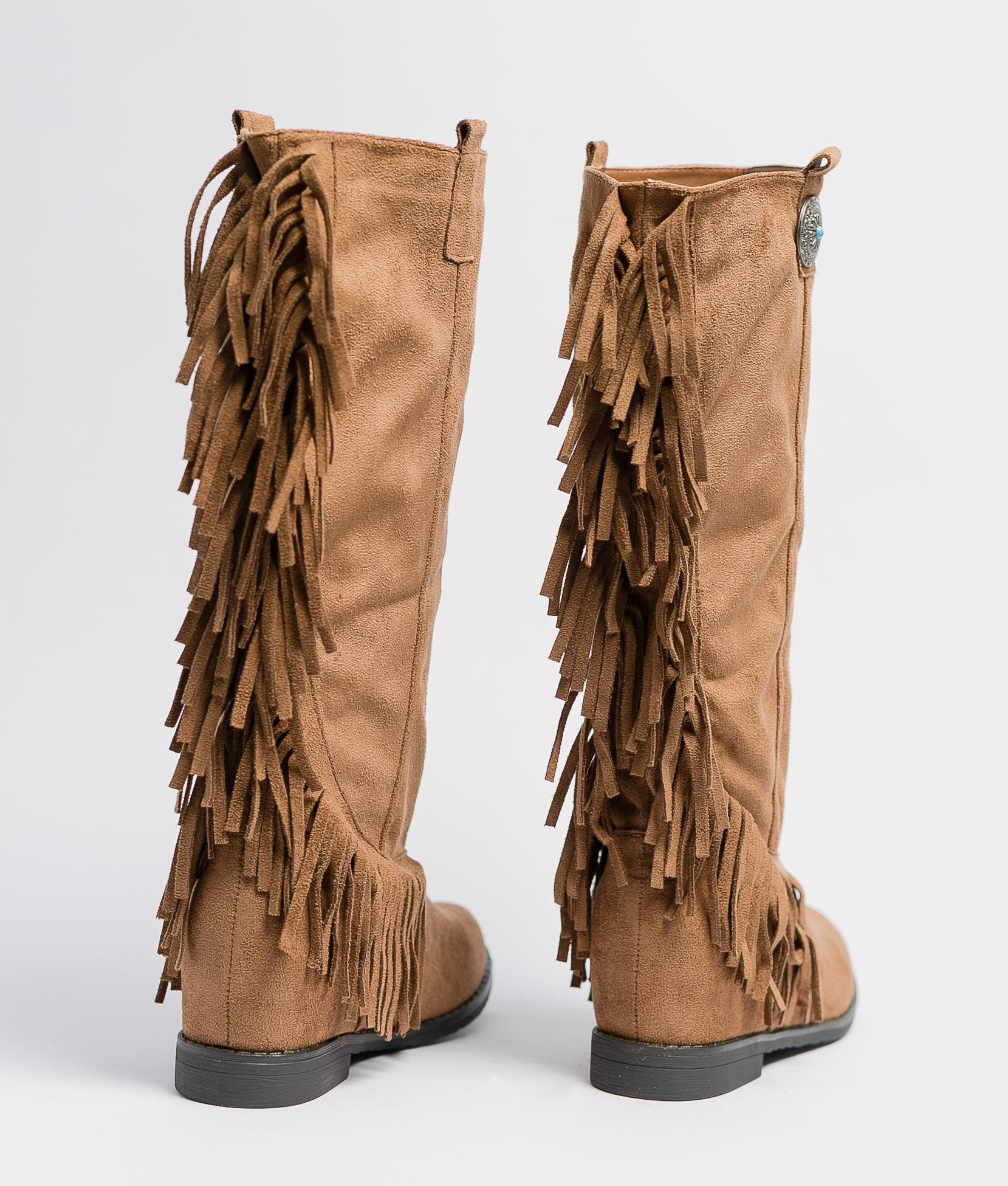 Knee-Length Boot Koari - Camel
