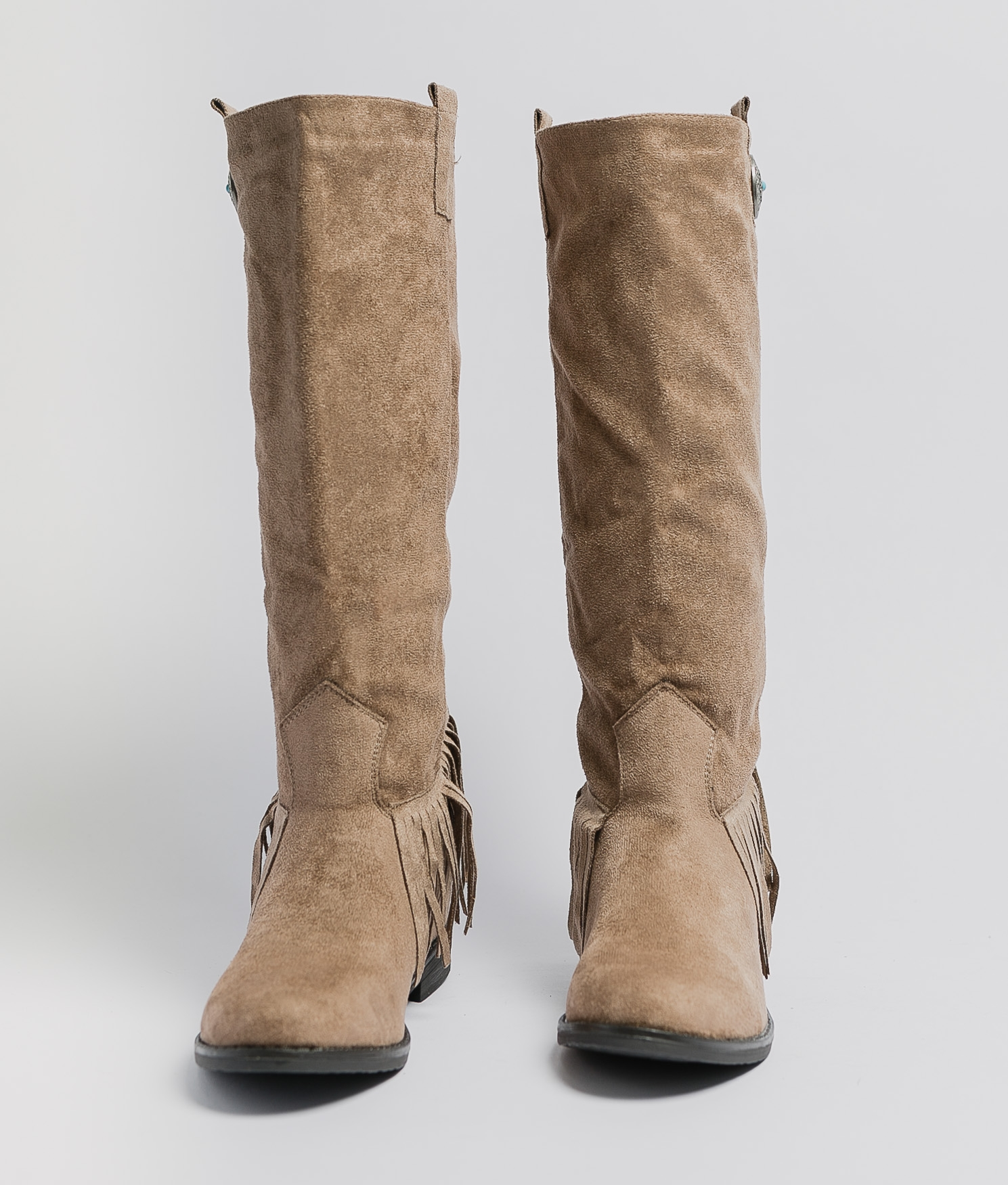 Knee-Length Boot Koari - Khaki