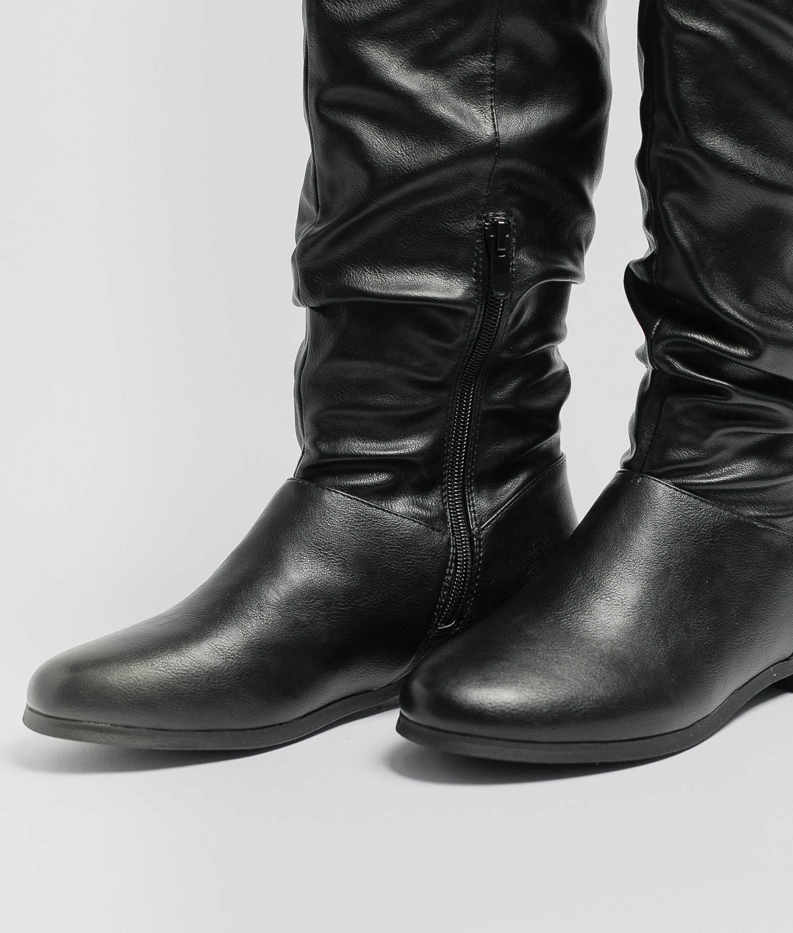Low Boot Trash - Black