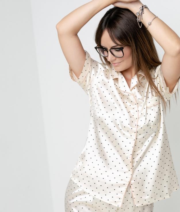 Quore pajama - Beige