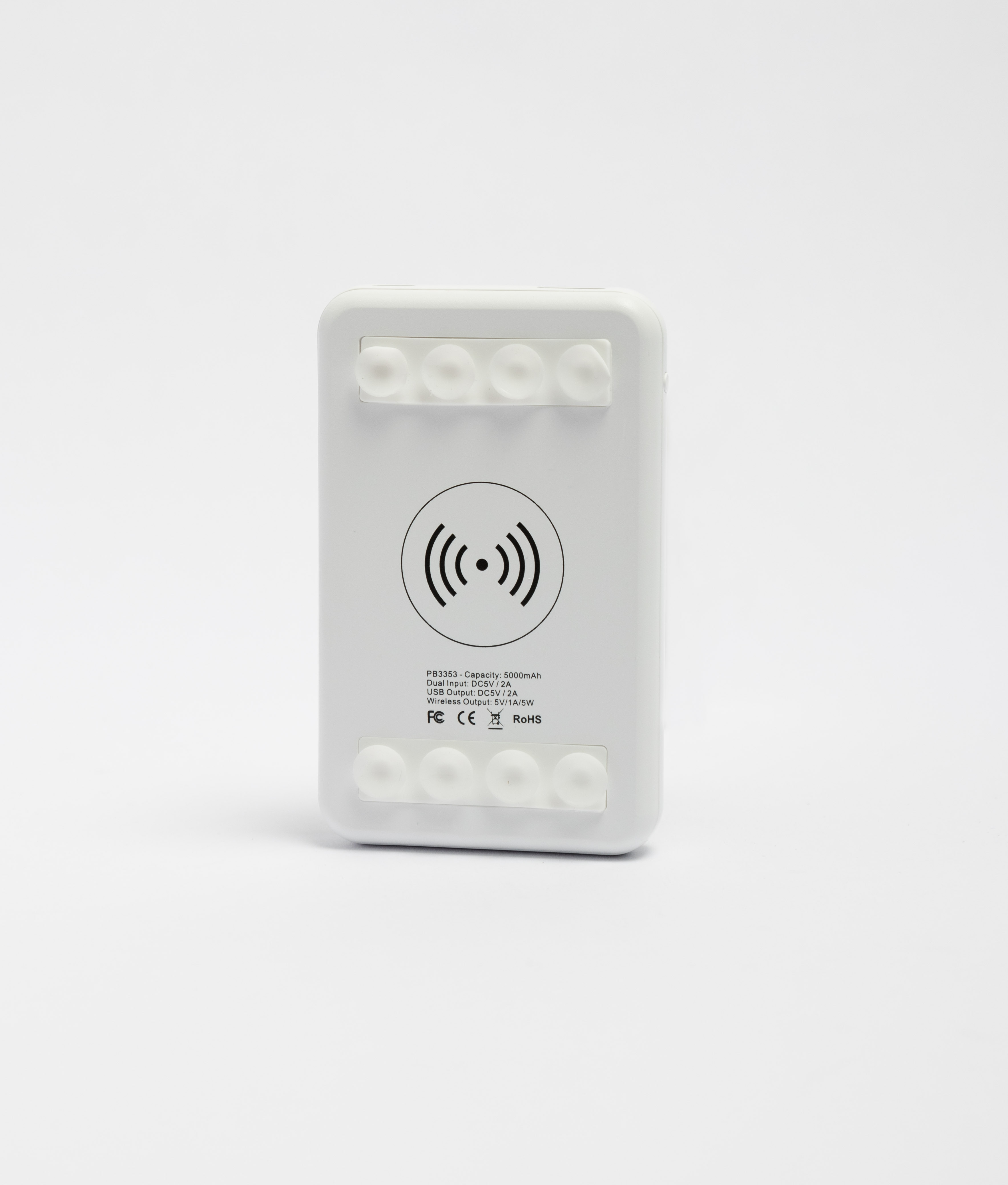Batería Externa Hall - Blanco
