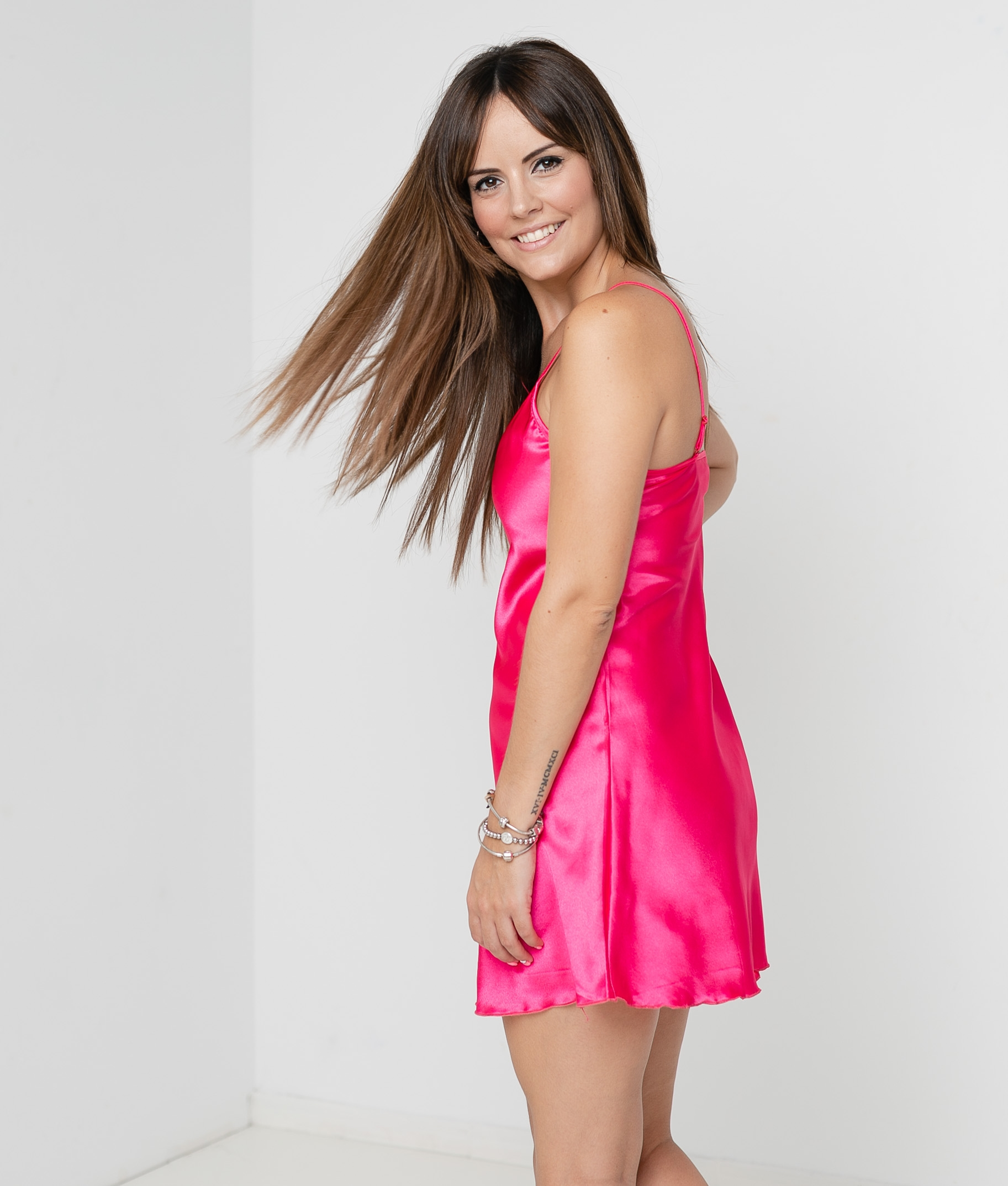 NIGHTGOWN KIMBER - FUCHSIA