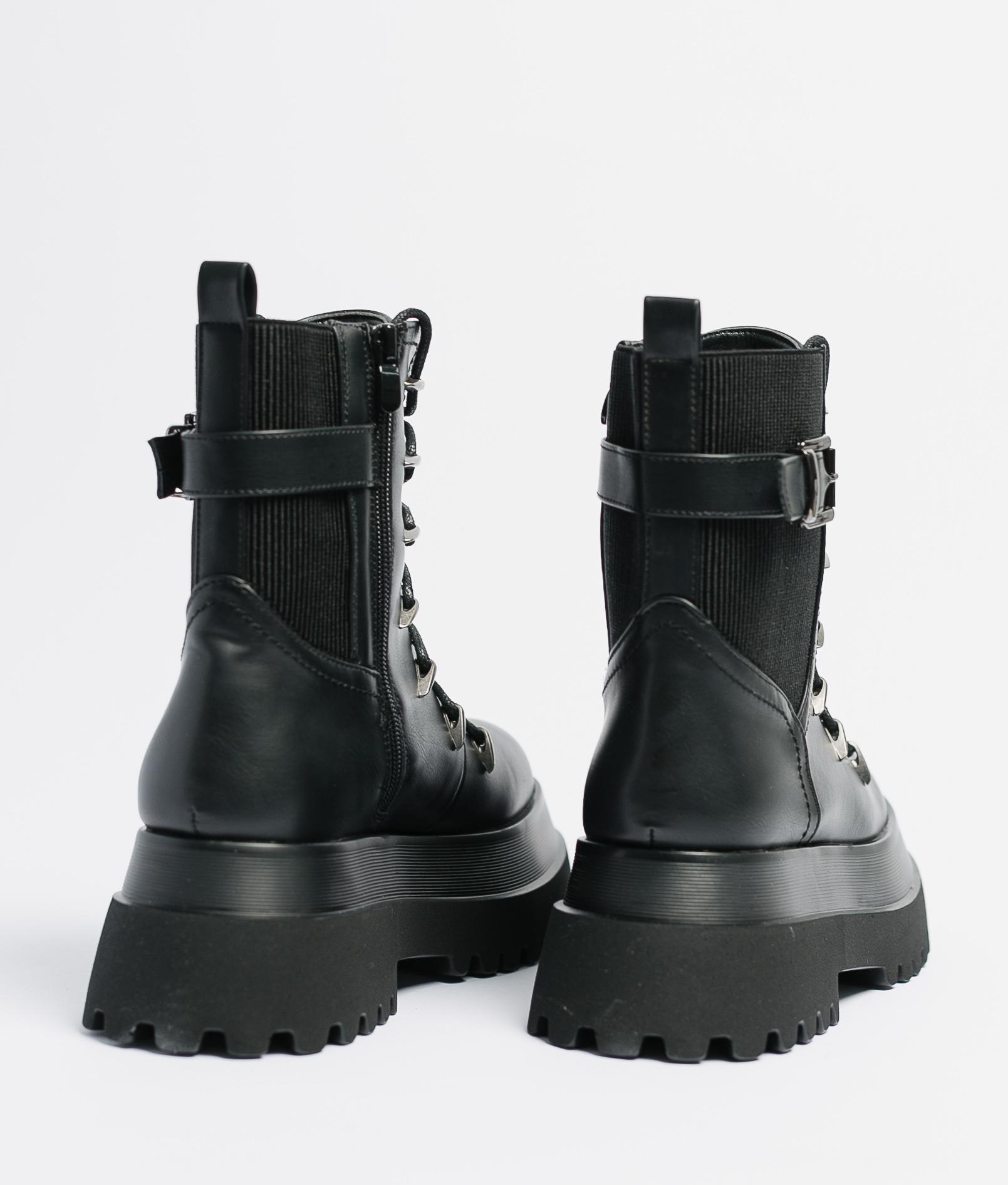 SHORT BOOT TRAX - BLACK