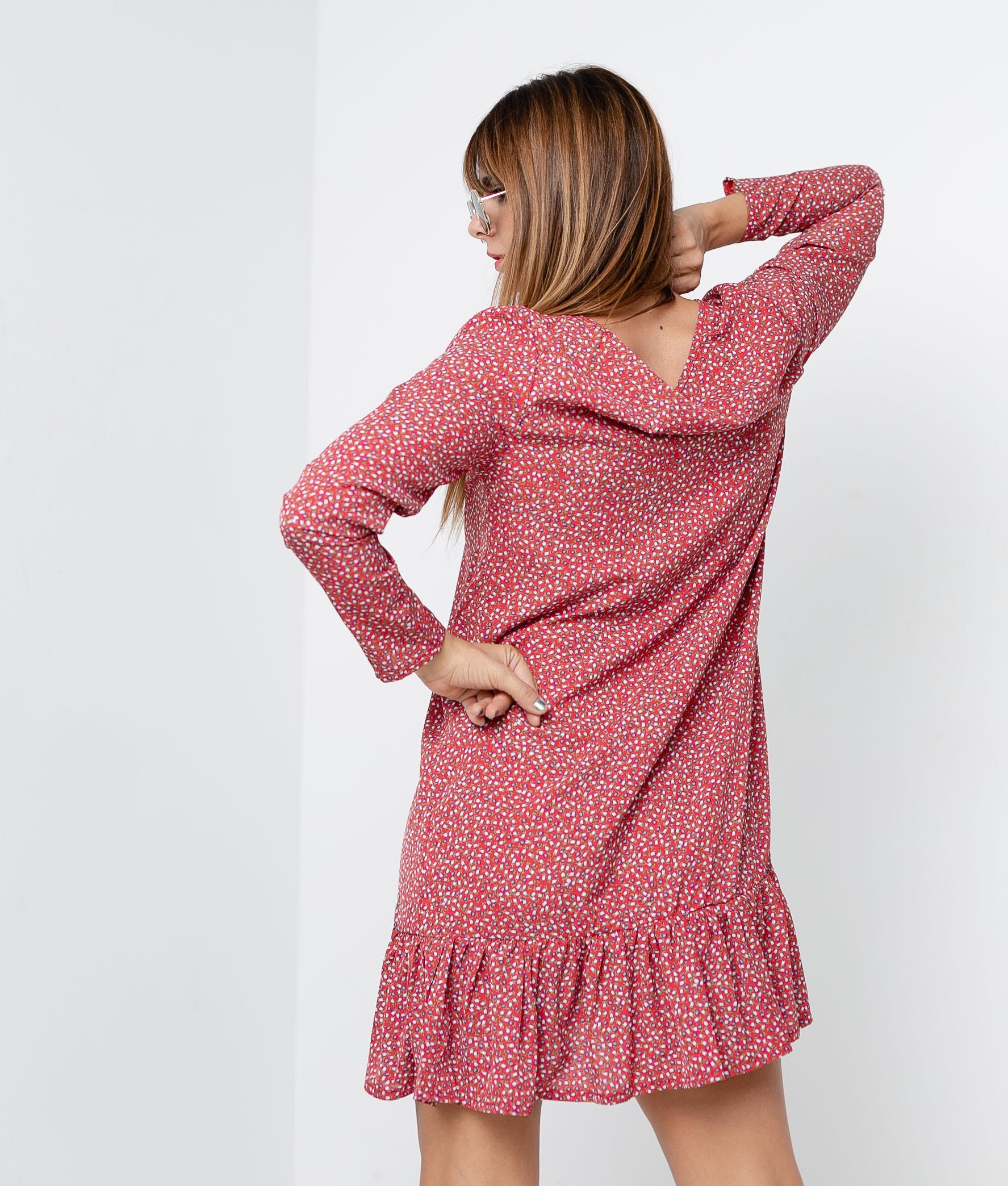MÁLISEN DRESS - RED