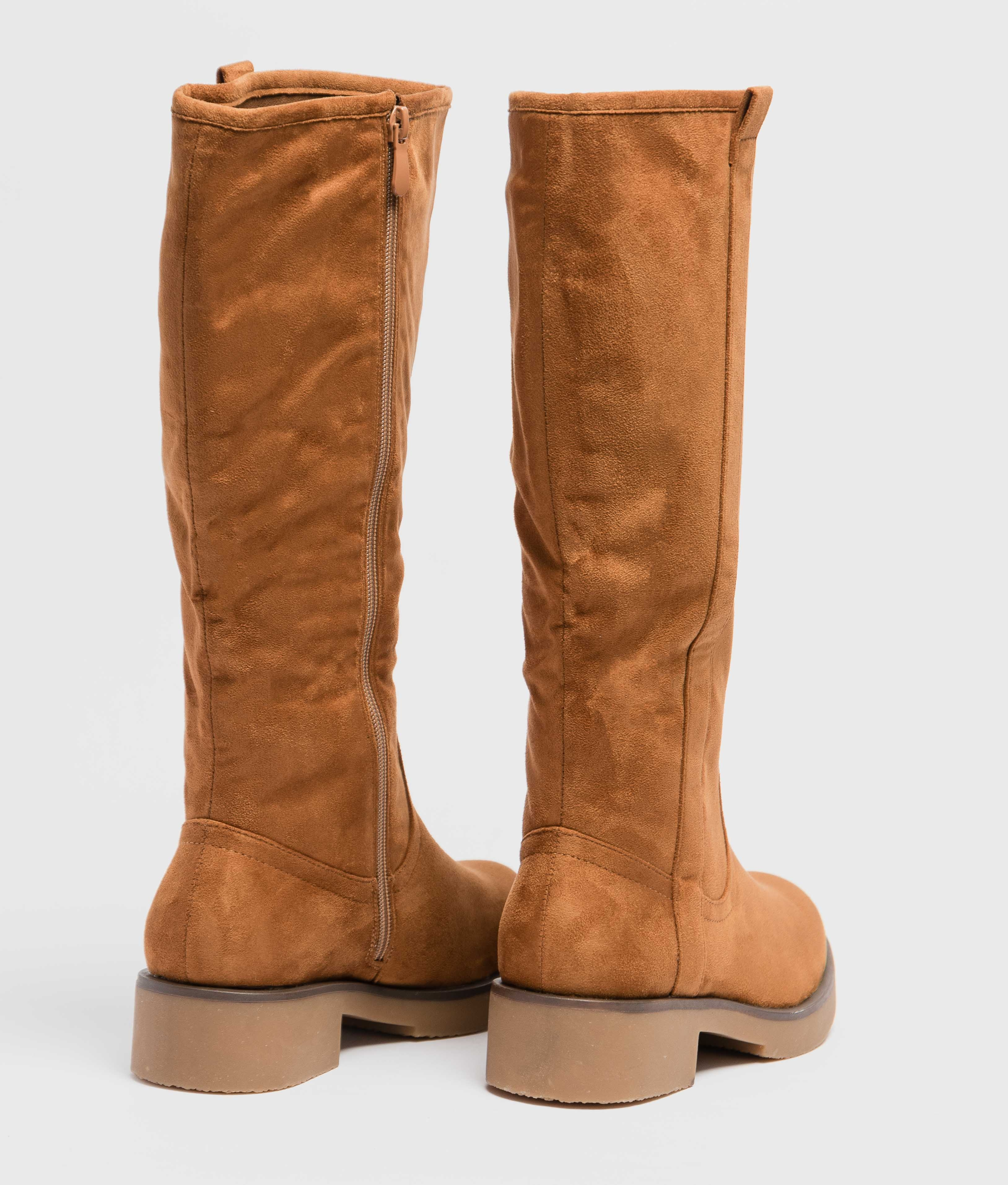 Knee-length Boot Tirsu - Camel