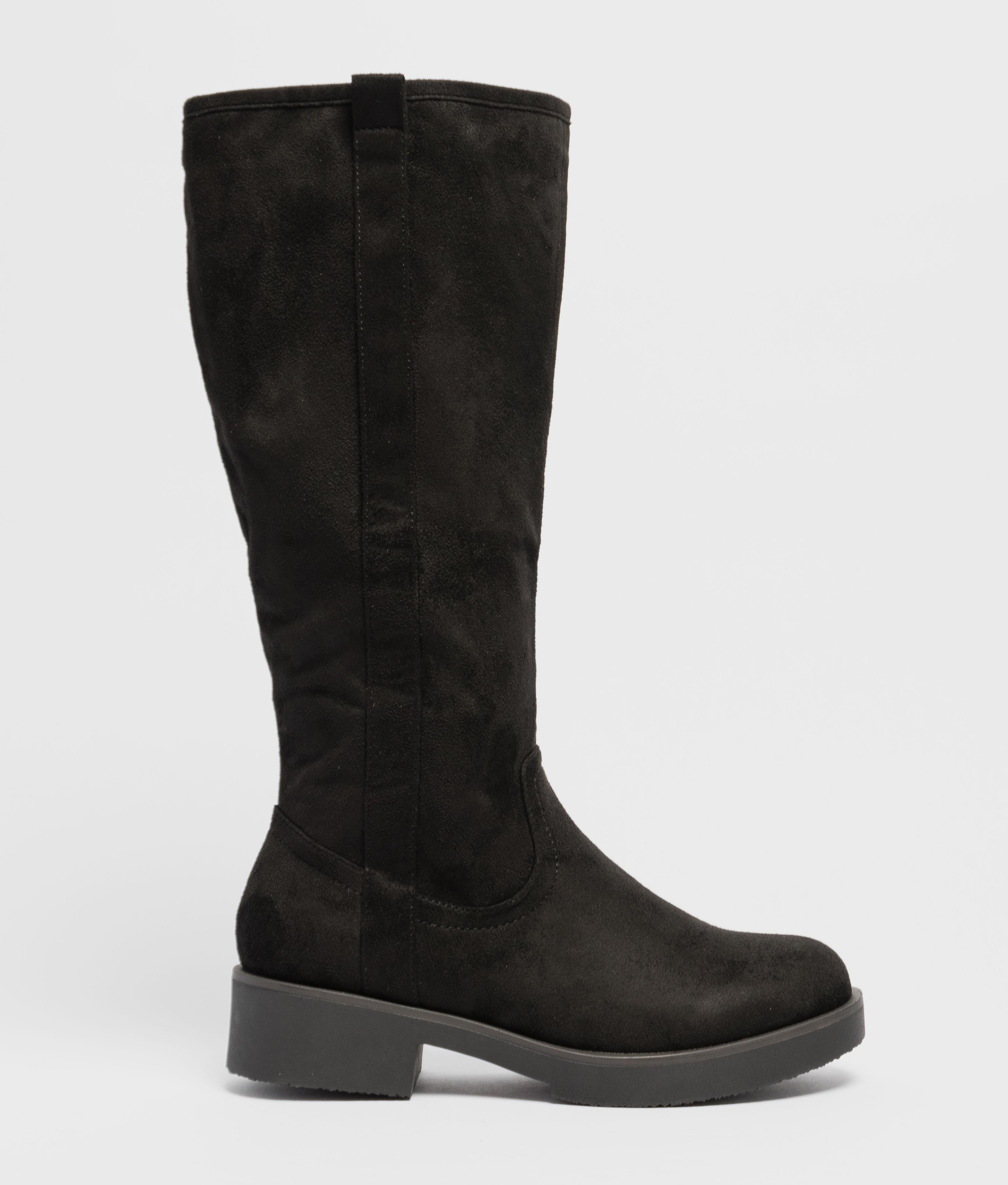 Knee-length Boot Tirsu - Black