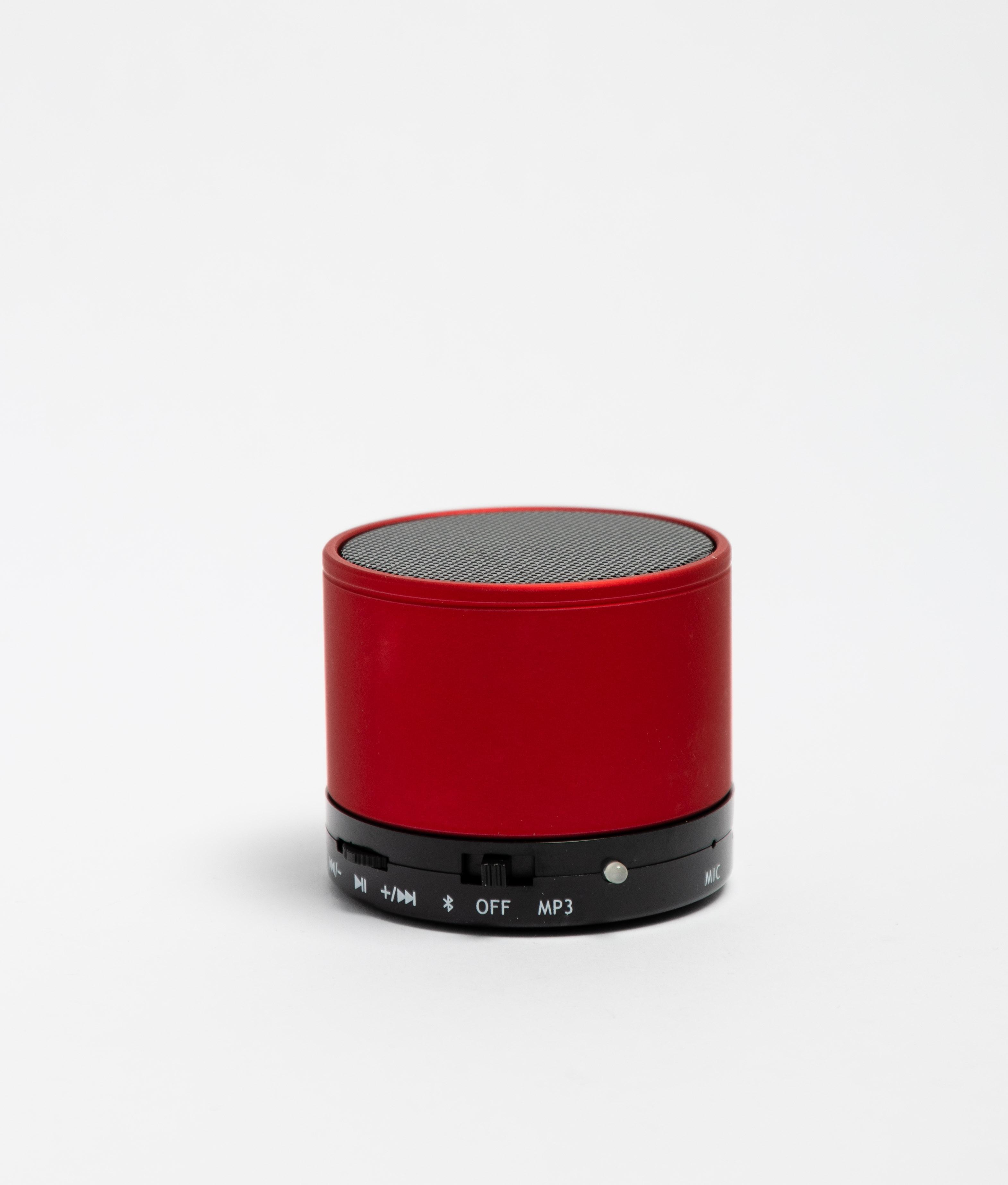Altavoz Bluetooth Garrix - Rojo