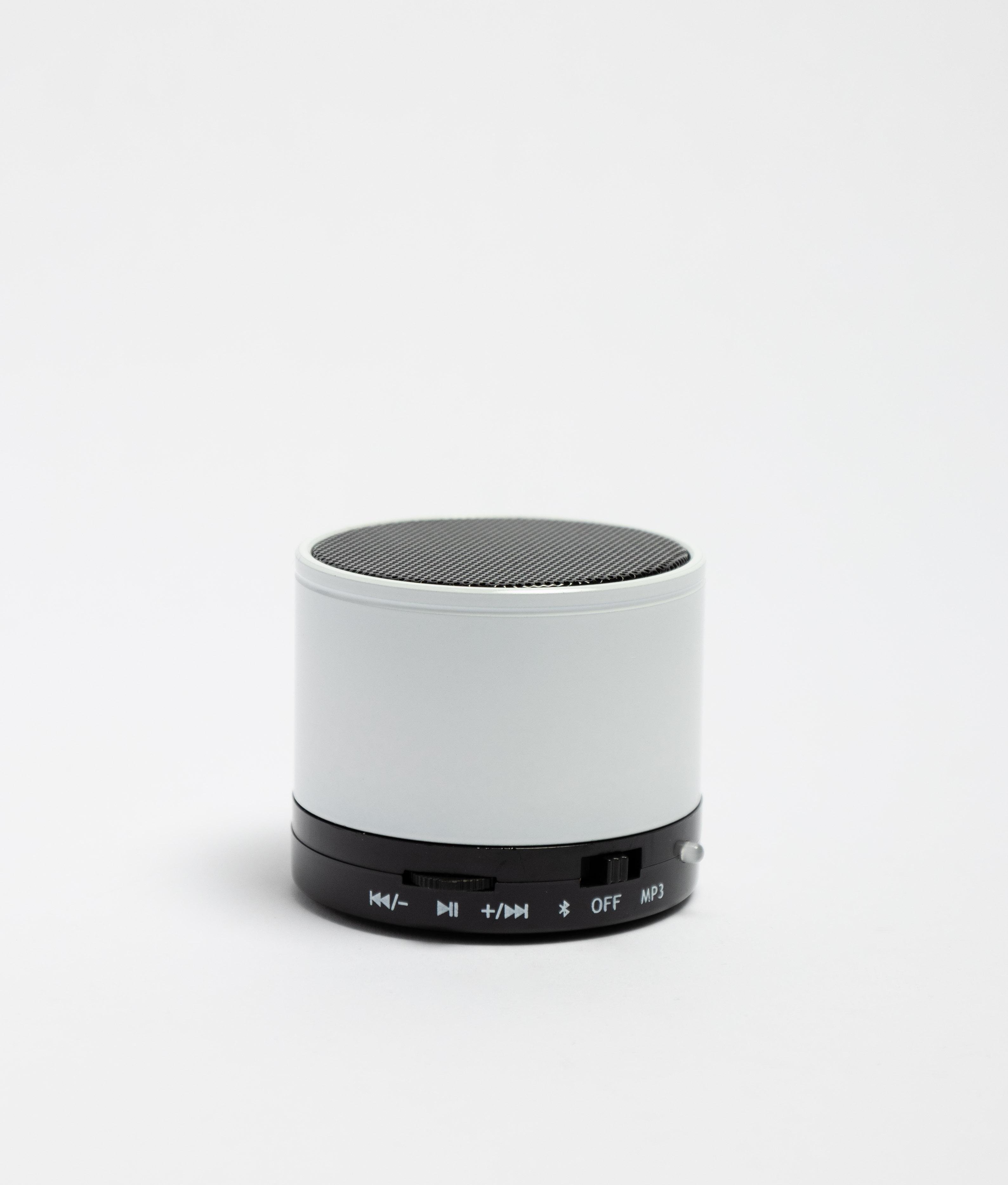 Altavoz Bluetooth Garrix - Blanco