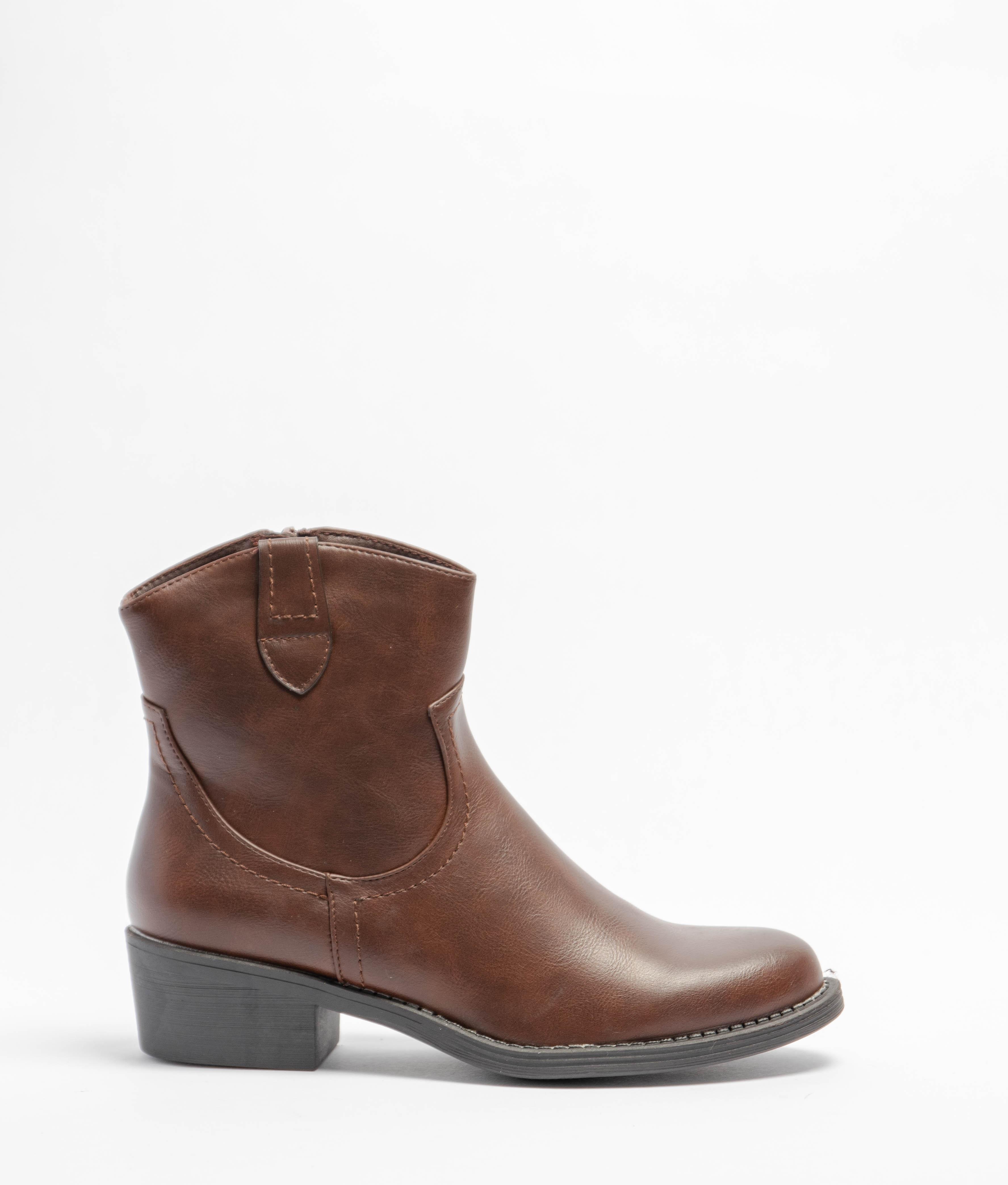 Low Boot Liran - Brown