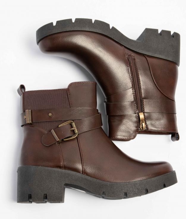 Low Boot Pirne - Brown