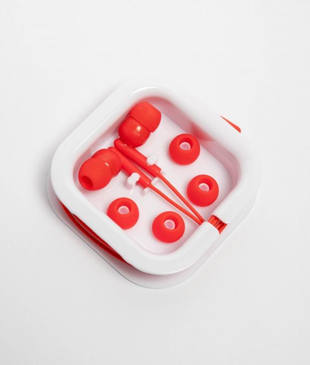 Auriculares Aoki - Rojo
