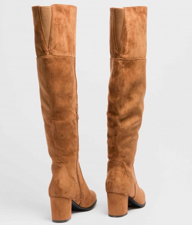 Knee-Lenght Boot Deliria - Camel