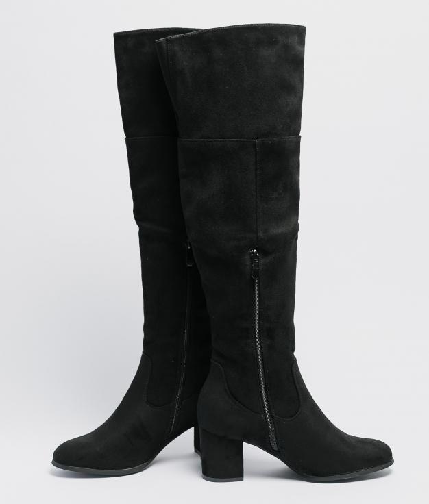 Knee-Lenght Boot Deliria - Black