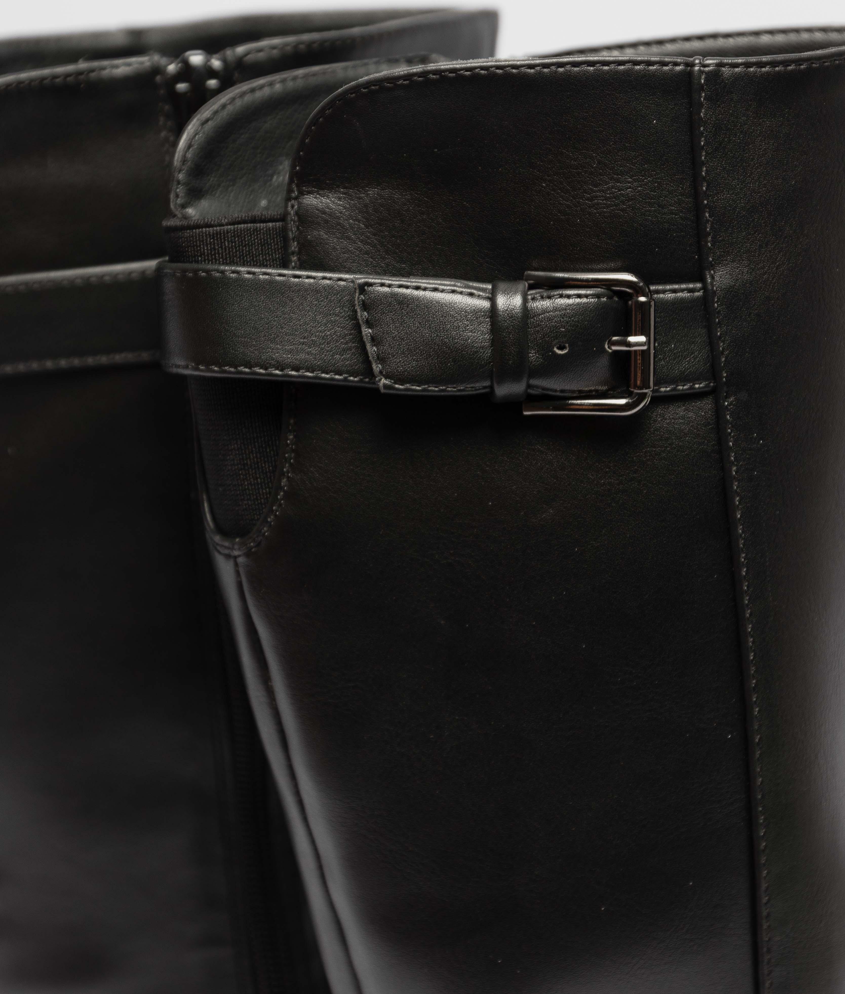 Knee-Lenght Boot Yenoa - Black