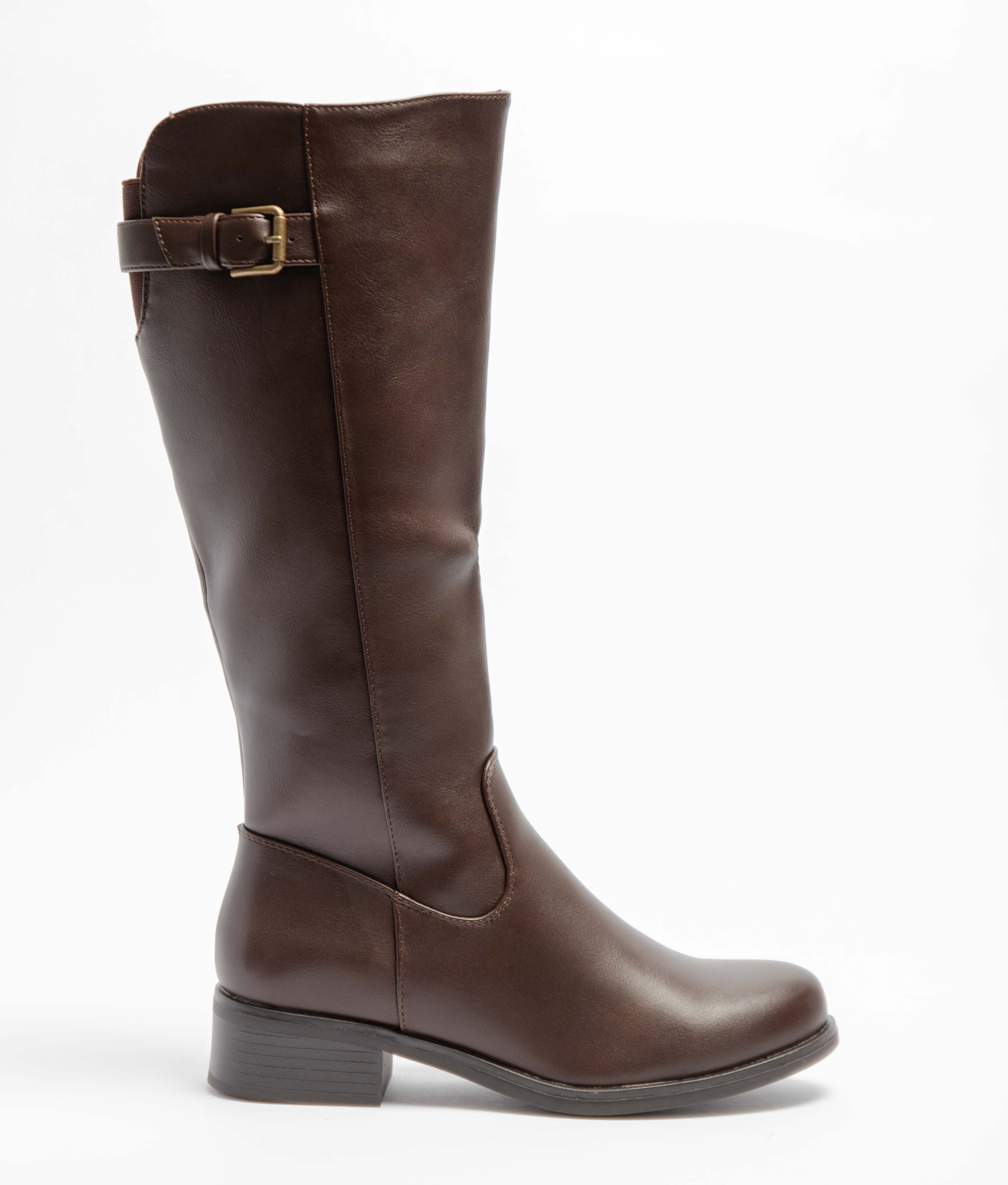 Knee-Lenght Boot Yenoa - Brown