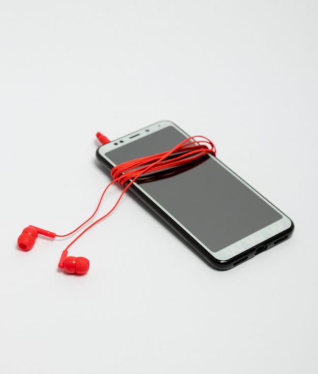 Auriculares Punk - Rojo