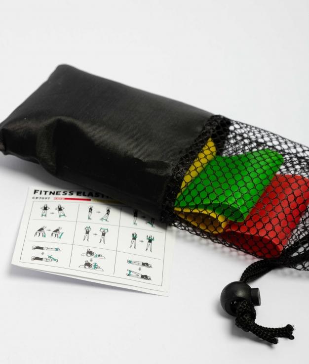 Bandas Elásticas Emon - Negro