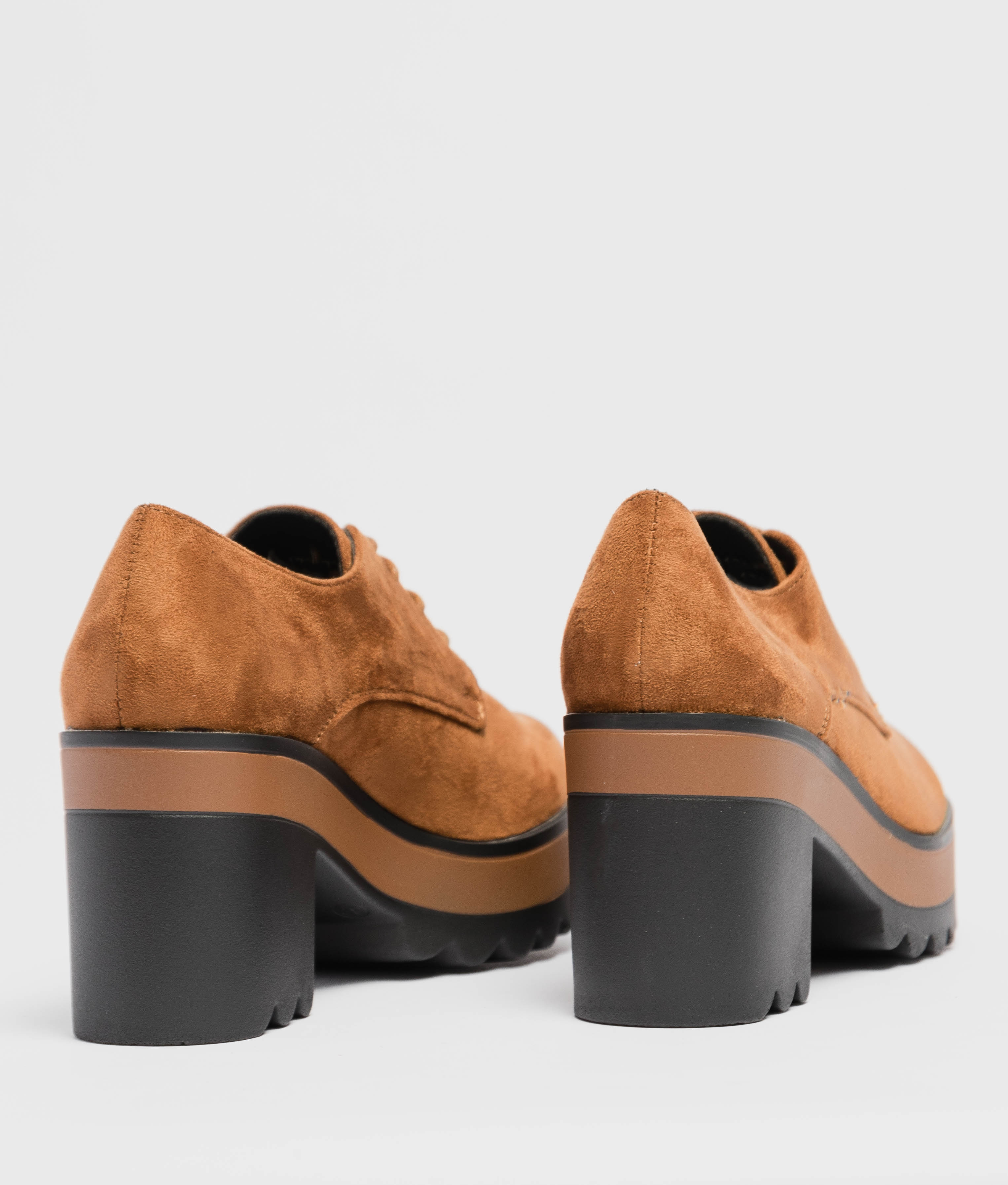 LAMBER HIGH HEEL - CAMEL
