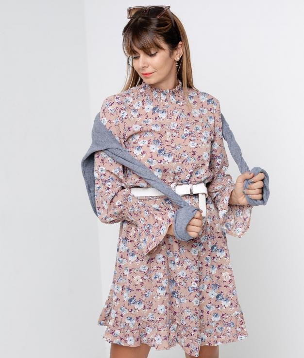 DRESS NANSY - PINK