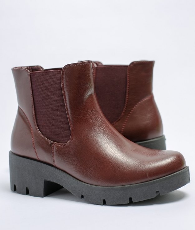 Low Boot Nebla - Maroon