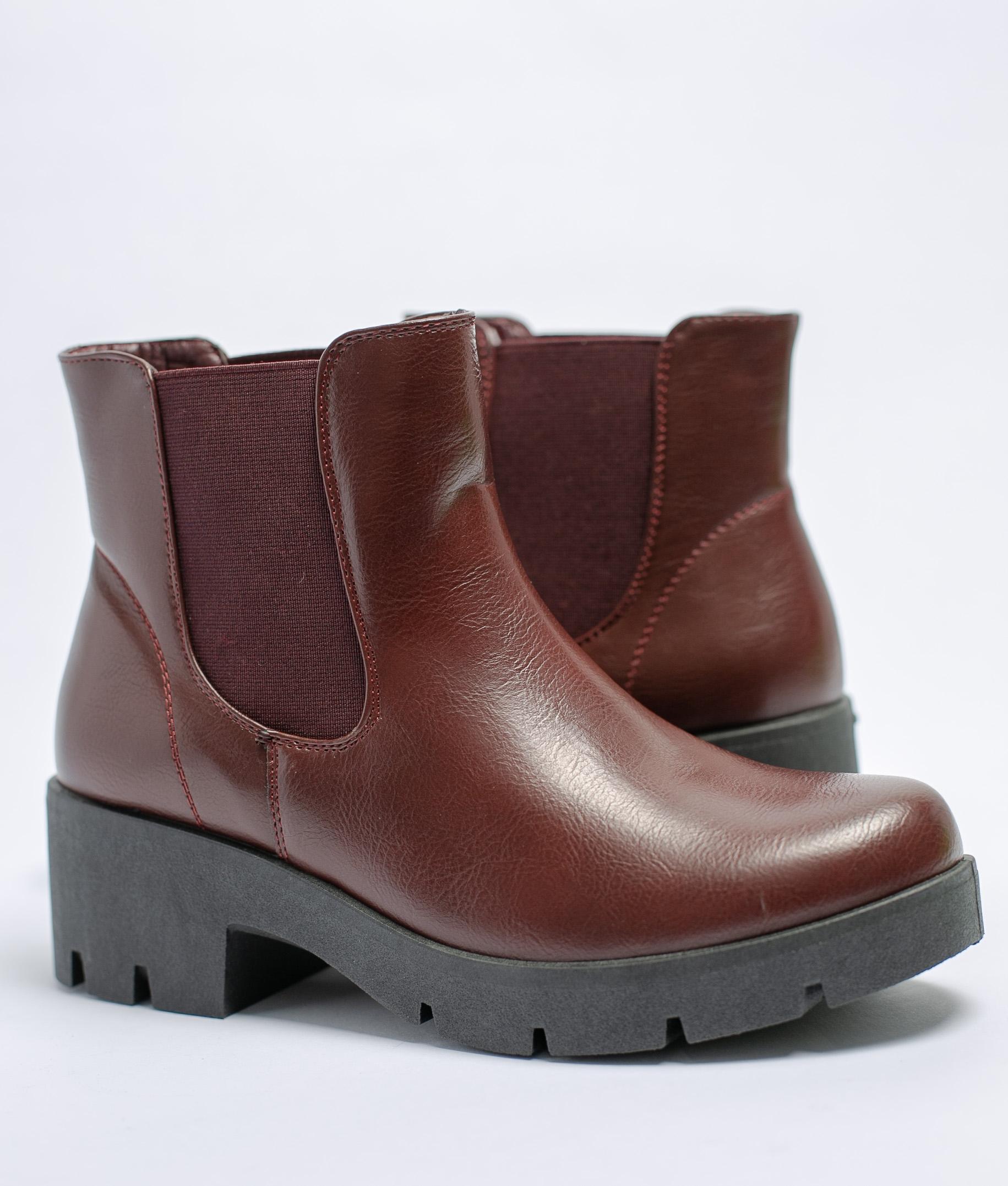 Low Boot Nebla - Maroon