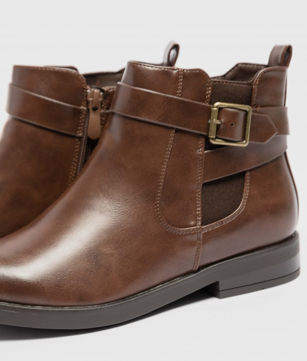 Low Boot Nicora - Brown