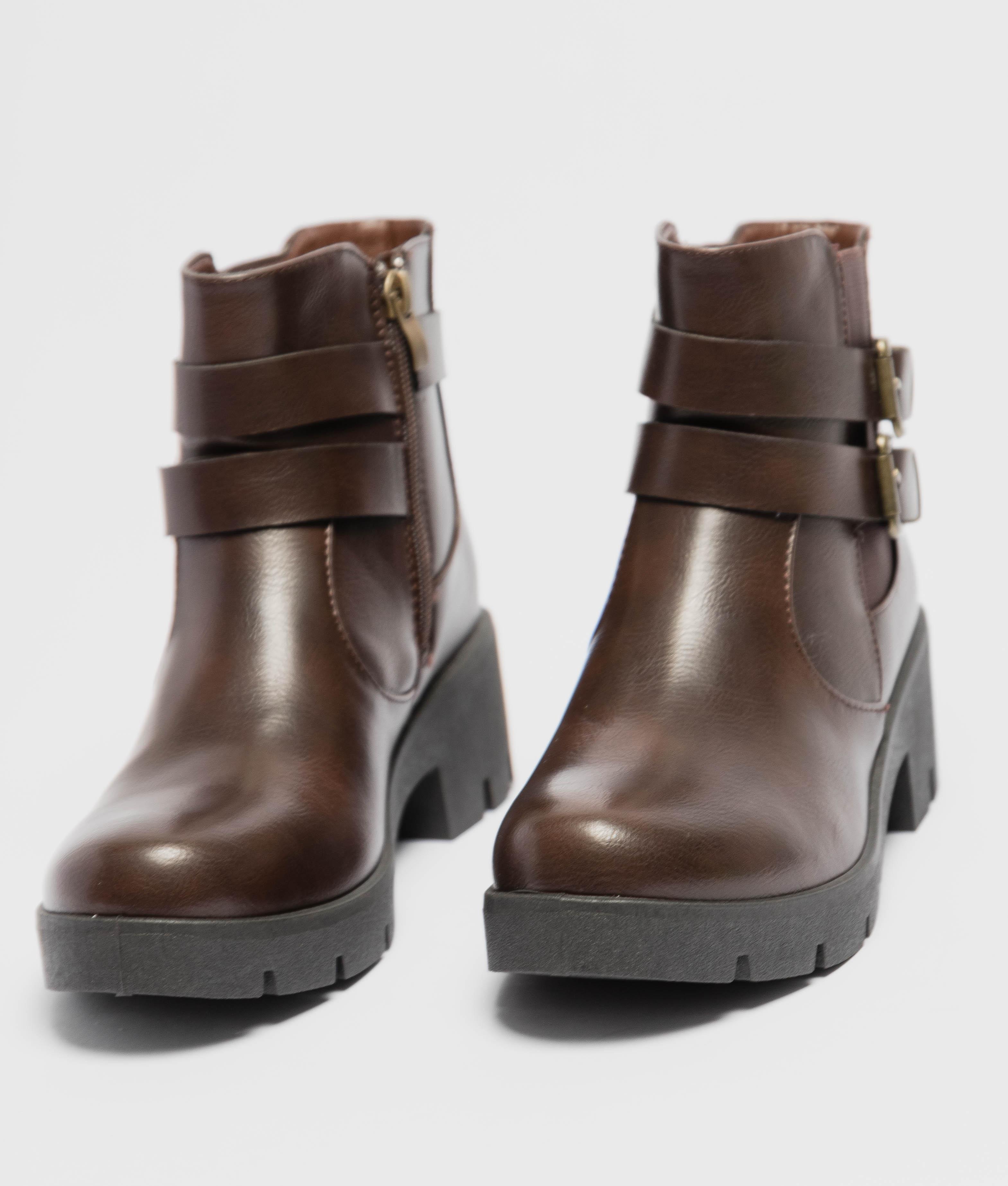 Low Boot Ferisa - Brown