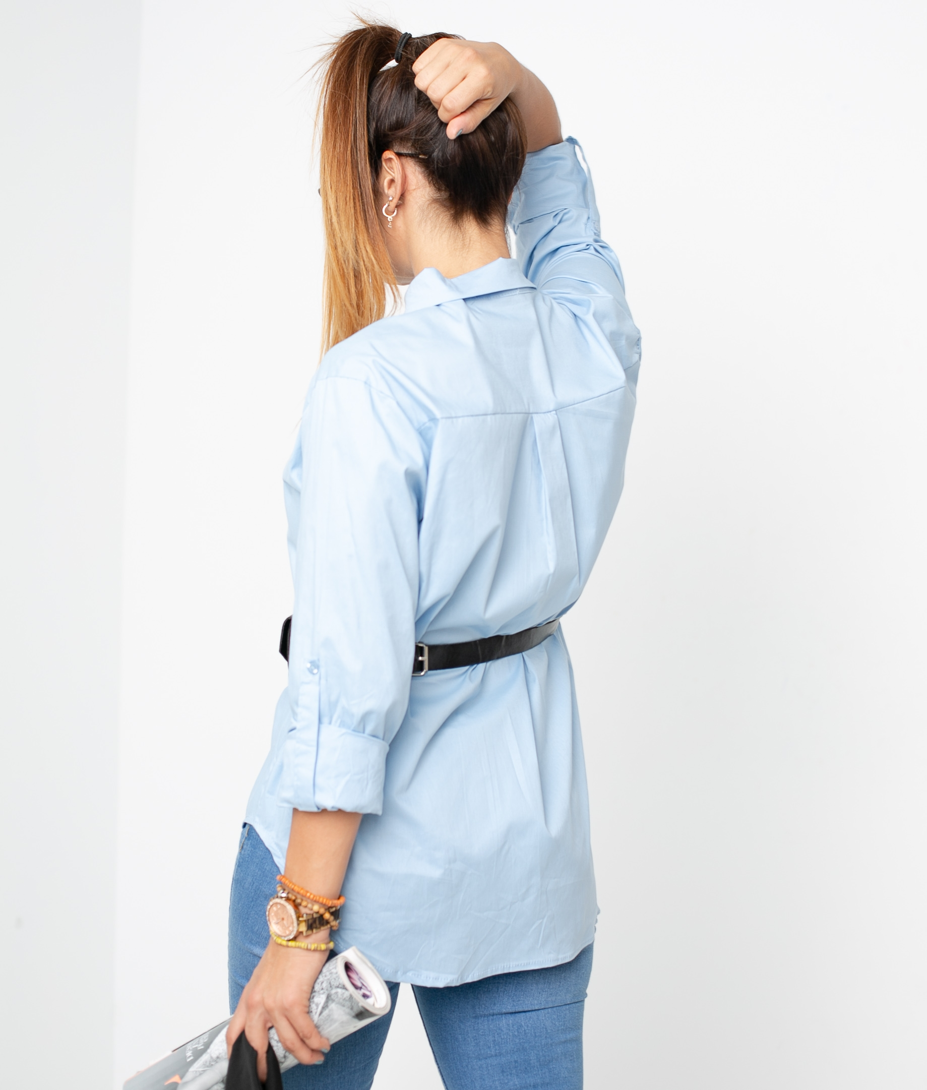 JIARA SHIRT - BLUE