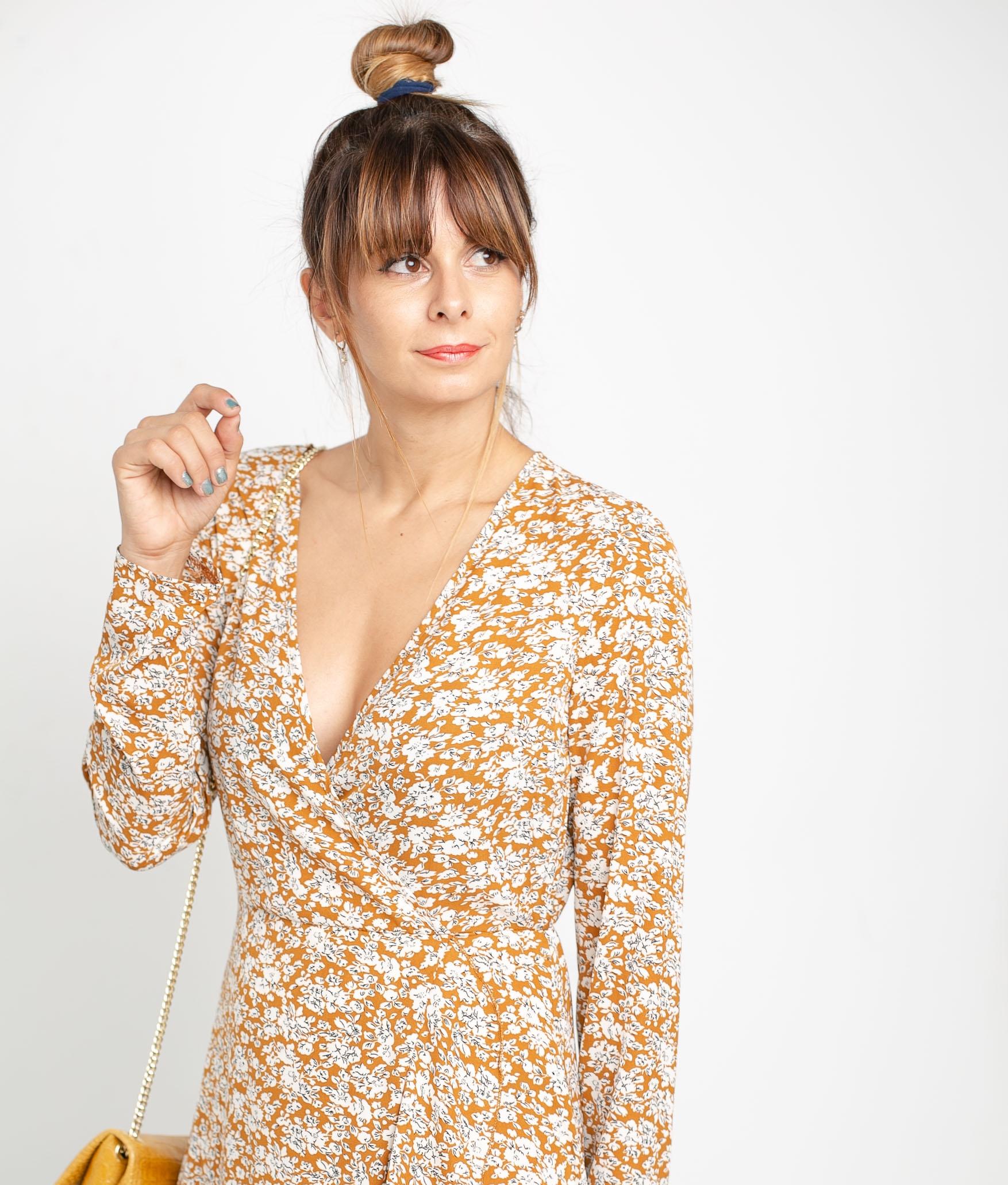 DRESS KASAL - YELLOW