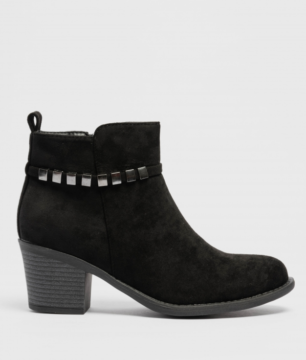 Low Boot Mileya - Black