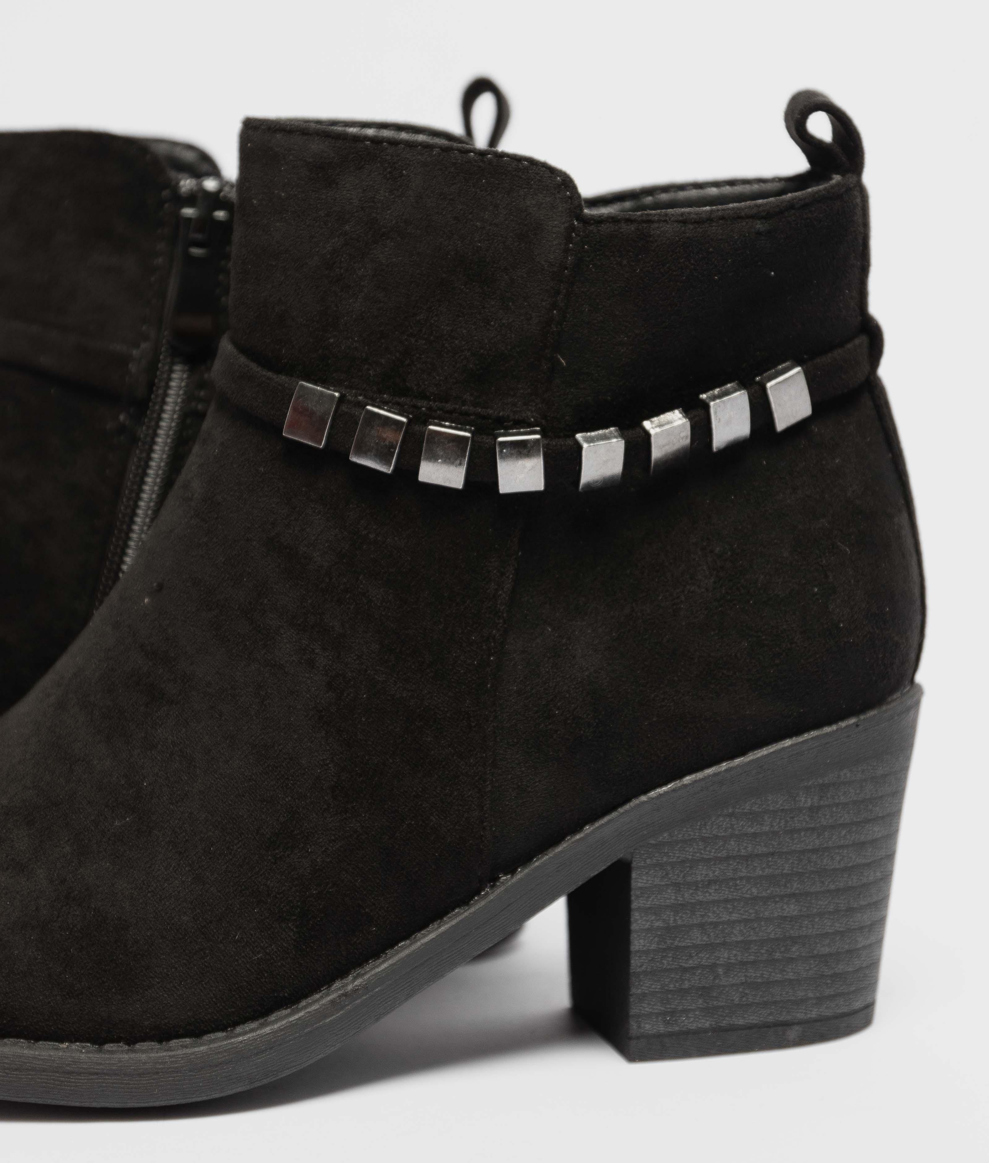 Low Boot Mileya - Black