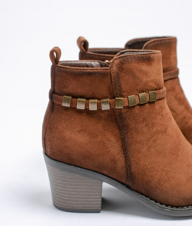Low Boot Mileya - Brown