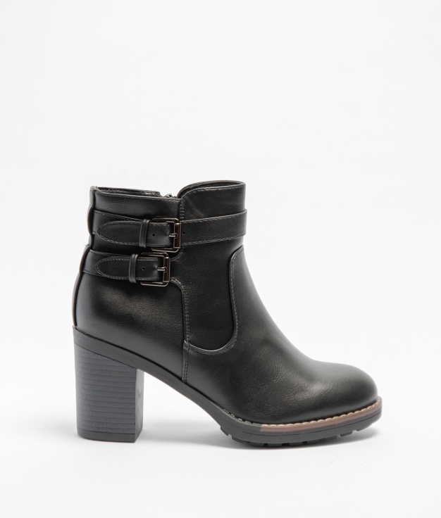 Low Boot Tedia - Black