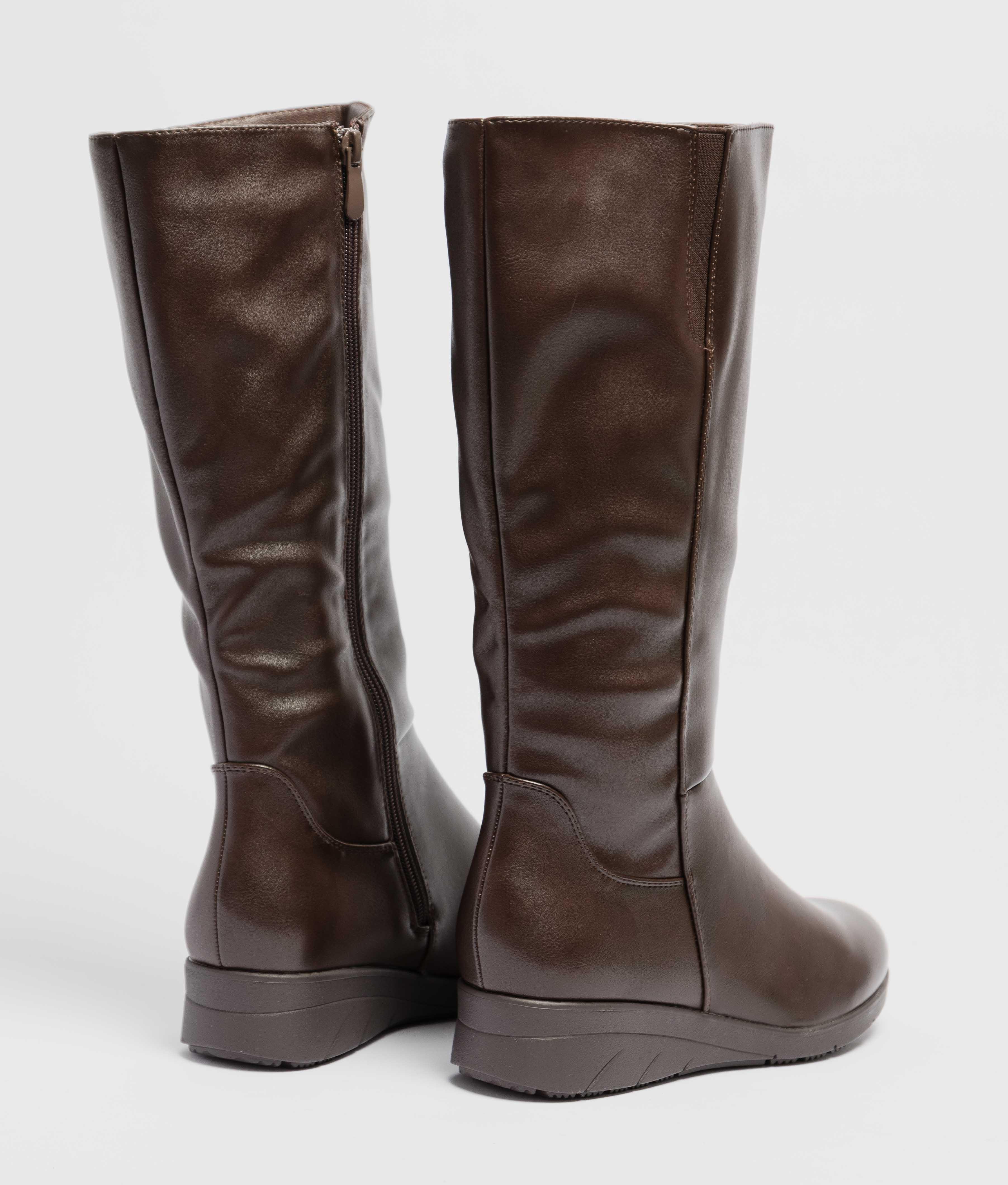 Knee-length Boot Wuli - Brown