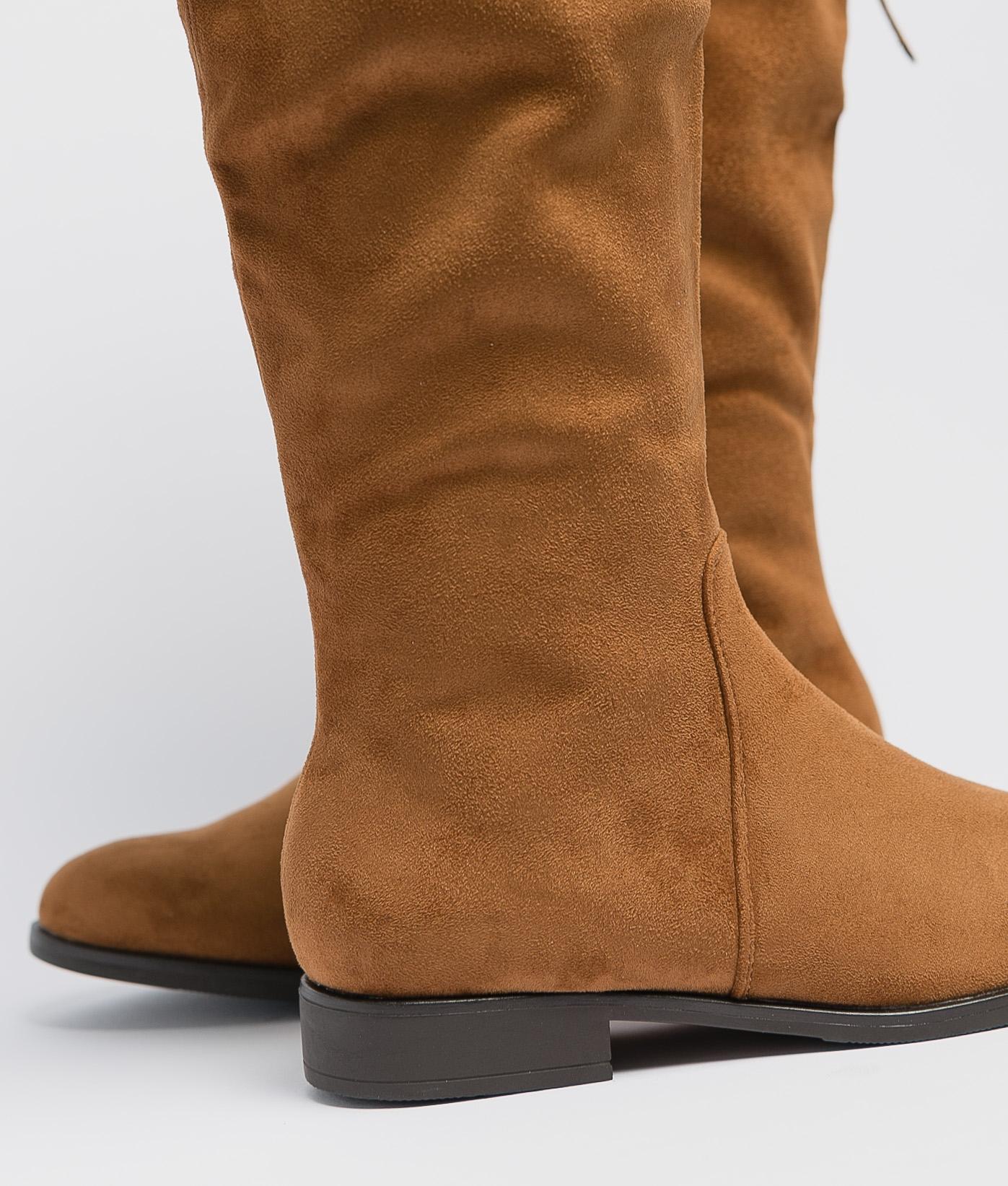 Knee-Length Boot Neria - Camel