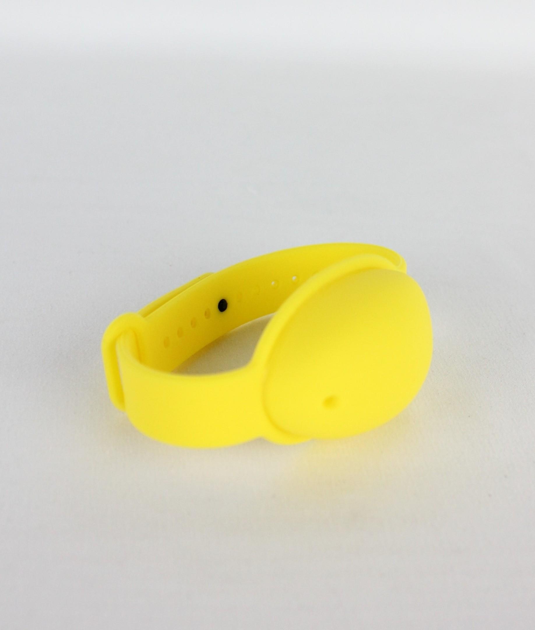 Pulseira Desinfetante - Amarelo