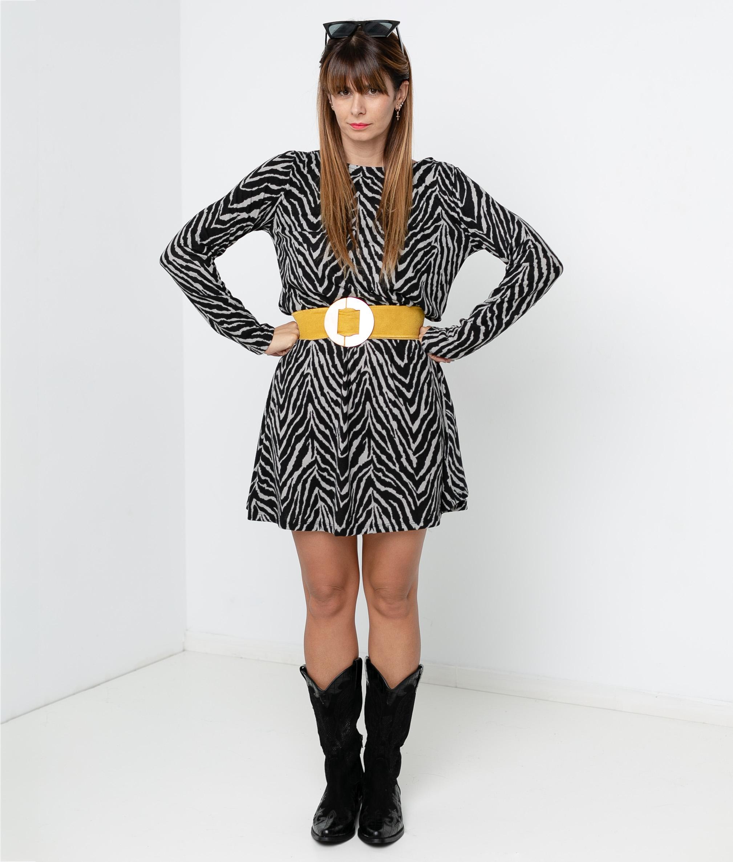SERSEI DRESS - GREY