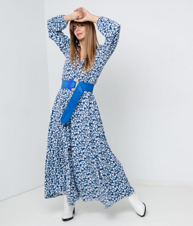 DRESS GARTIK - BLUE