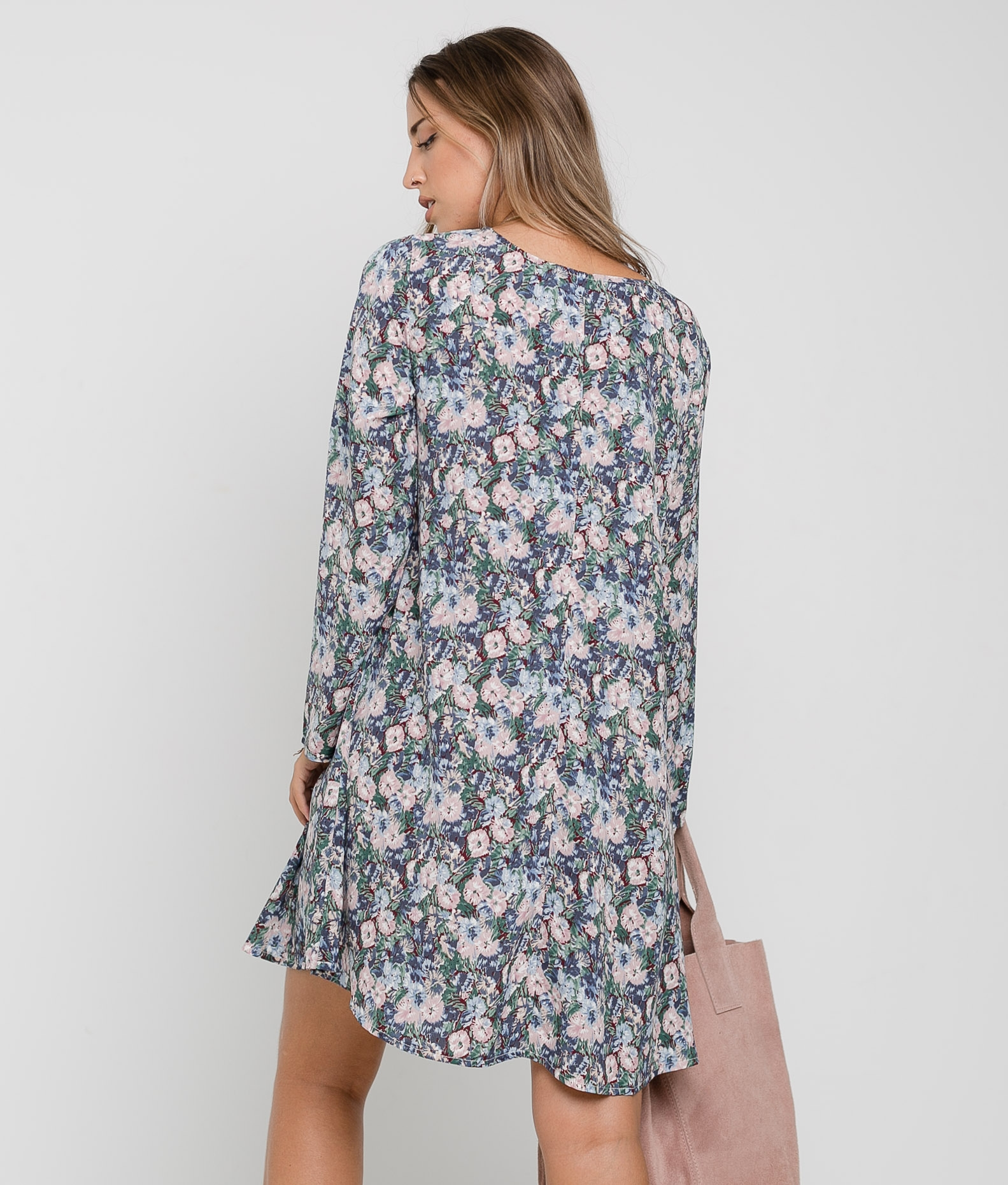 DRESS ODEFI - BLUE