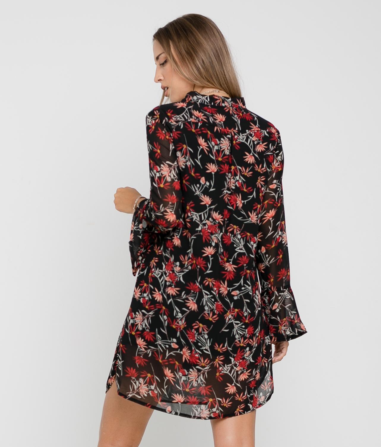 DRESS FABIL - BLACK