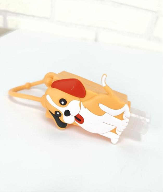 Porta desinfectante de silicona Fila - perro
