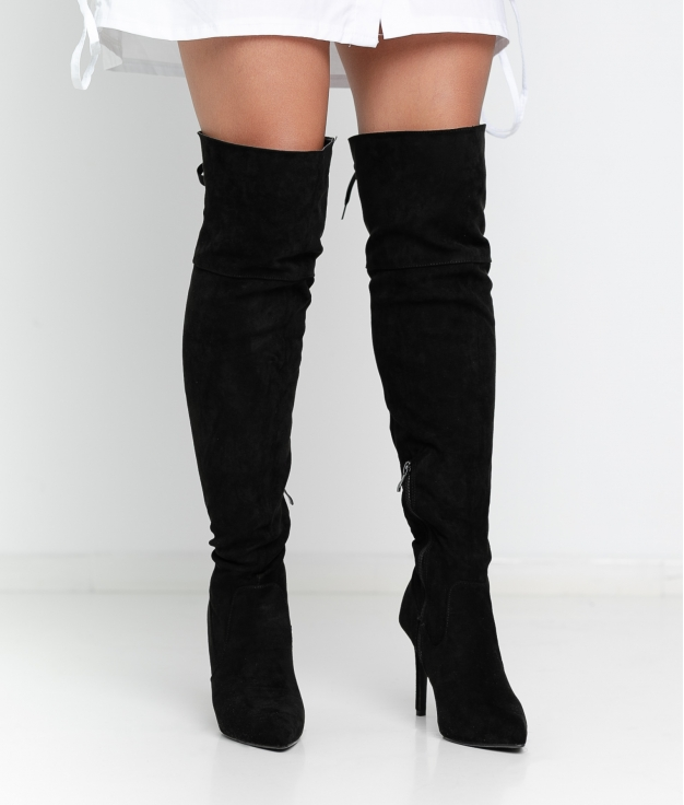 Knee-Length Boot Ralia - Black