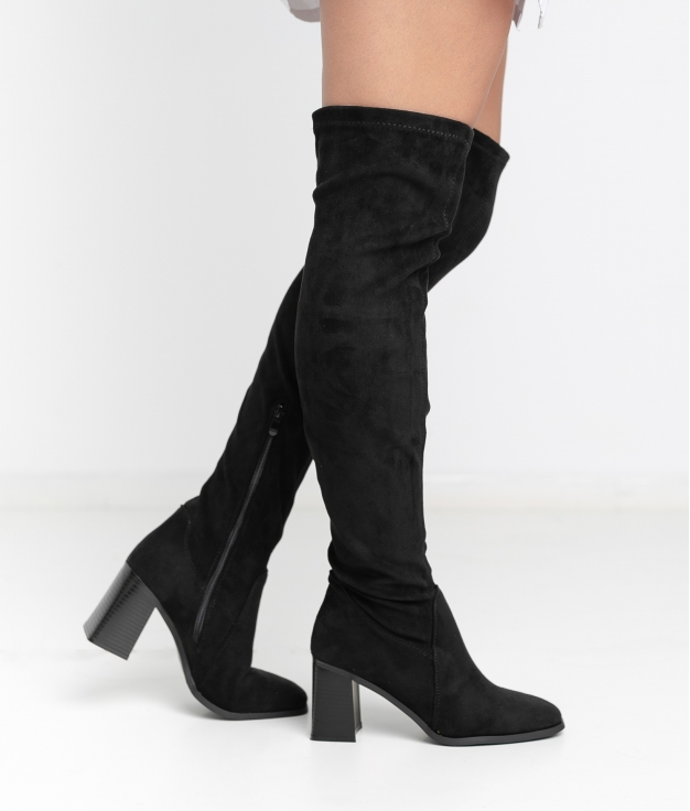 Knee-Length Boot Cresia - Black